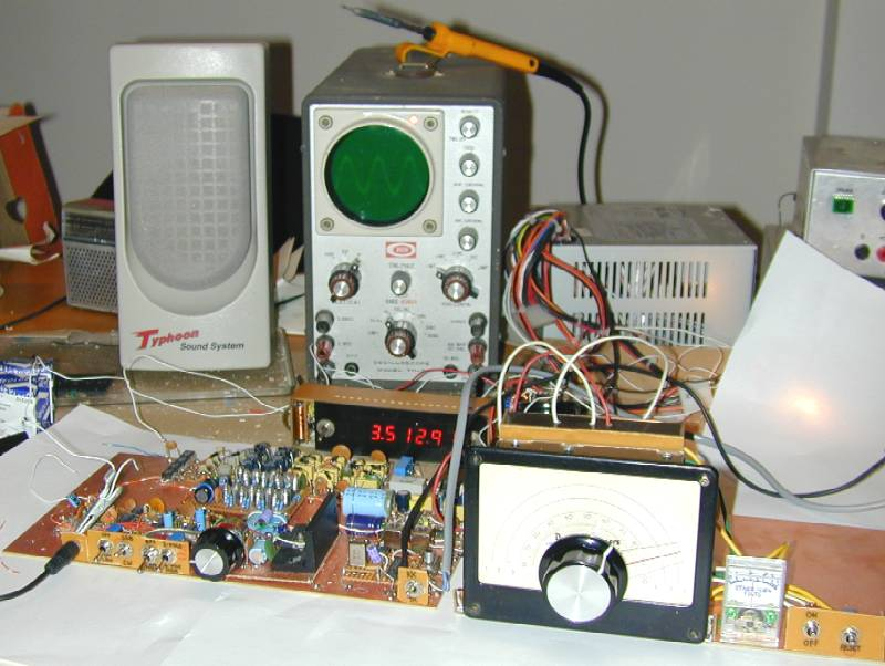 You are browsing images from the article: 40/80m CW/SSB receiver