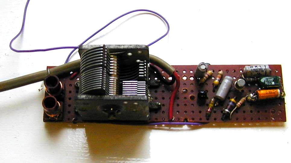 You are browsing images from the article: Simple radio receiver