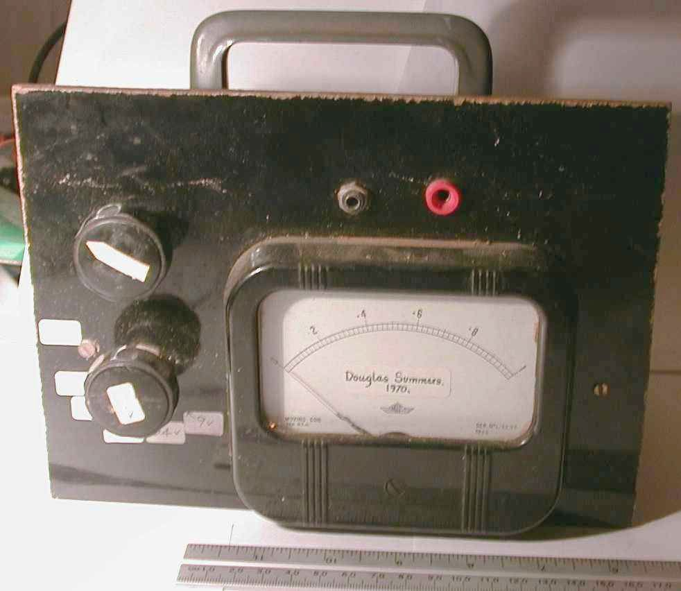 You are browsing images from the article: Dad's Voltmeter